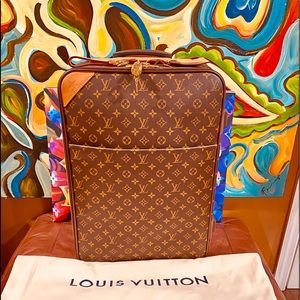 👨‍✈️✈️🧳Louis Vuitton Pegase 50 in Monogram